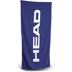 Head Sport Cotton Logo Handduk blå